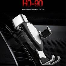 Джеллико автомобильный держатель телефона для iPhone X 8 7 тяжести вентиляционное отверстие держатель в автомобиль мобильного телефона держатель для samsung S9 S8