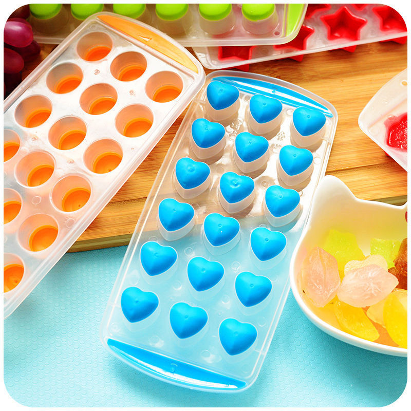 Silicone Ice Cube Tray Freeze Mold Bar Jelly Pudding Chocolate Candy Mould Maker Thumb Cookie Mold Home & Garden