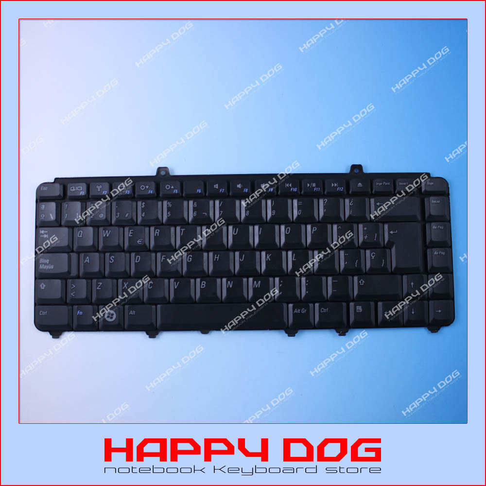 Brand New teclado Black SP Laptop Keyboard For Dell Inspiron 1400 14201500 1520 1521 1525 1540 1545 XPS M1330 M1530