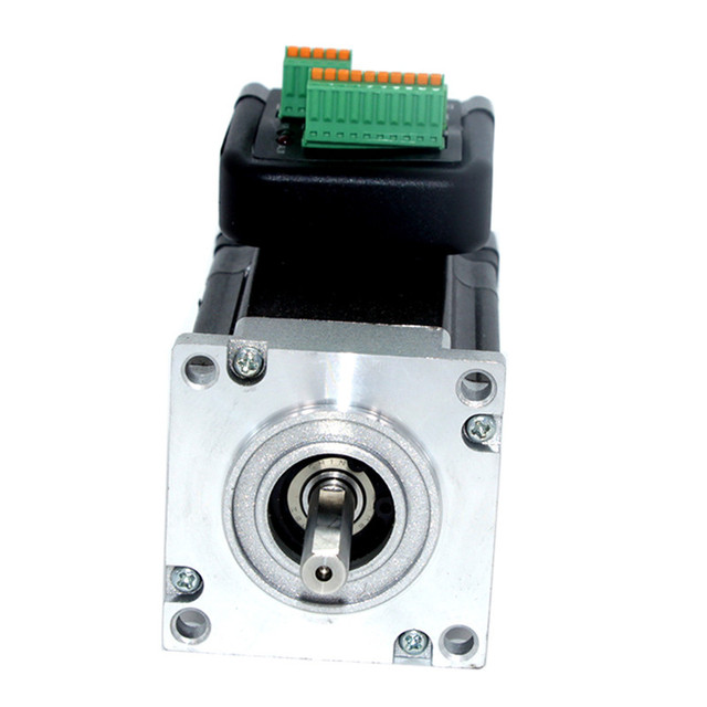 180W 3000rpm NEMA23 0.57Nm Integrated Servo Motor 36VDC JMC iHSV57-30-18-36