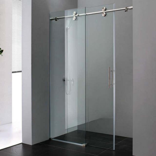 Pictures Of Frameless Sliding Glass Shower Doors