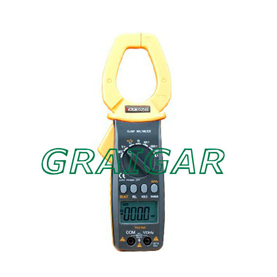 VICTOR VC6056E Digital Clamp Meter Jaw open 55mm portable design, can be one-handed operation, easy to use victor 6056d digital clamp meter