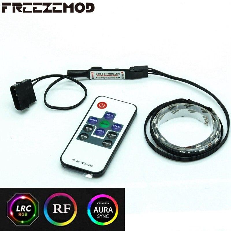 Us 33 25 Offfreezemod Obudowa Komputera Nastrojowe Oświetlenie Led Pasek światła Zdalnego Sterowania Rgb Synchroniczne Procesora Karta Graficzna
