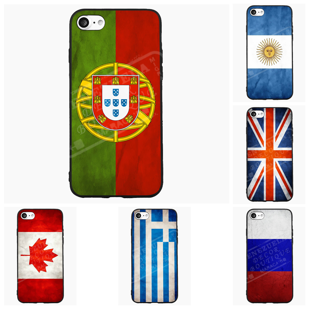 10pcs lot national flag country flag stick flags flag of the united - Vintage Portugal National Flag Cell Phone Case For Xiaomi Mi Redmi Note Pro 1 1s 2s