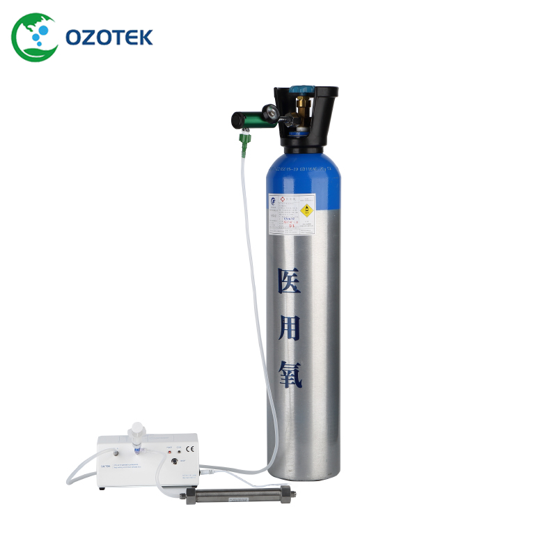medical ozone therapy equipment MOG003 with oxygen regulator CGA540 or CGA870 oxygen regulator cga540 used on medical ozone generator