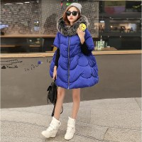 2017 Fashion Autumn Winter New Women Cotton Thick Winter Coat Parka Jackets Coats Down Parkas