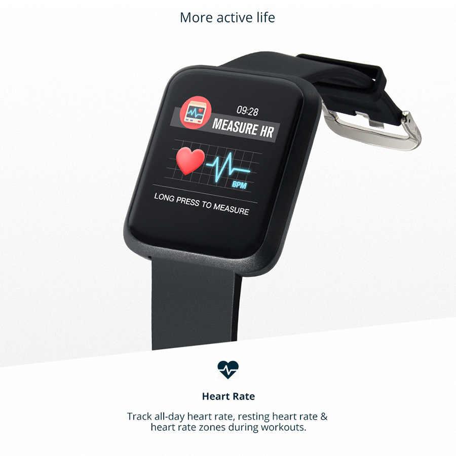 80a8679f79b ... COLMI Smart Watch Men IP68 Waterproof Blood Pressure Fitness Tracker  Women Clock Kids Smartwatch For iphone ...