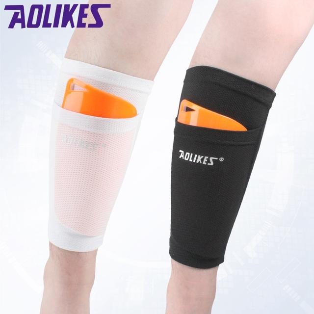Soccer Protective Socks With Pocket For Football Shin Pads Leg Sleeves Shin Pad Holder Socks Sleeves Adult Support Sock