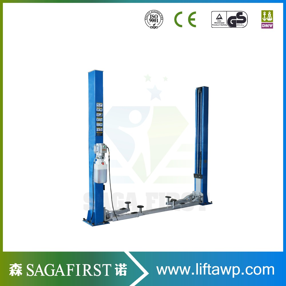 Dual Safety Locks 2 Post Workshop Truck Lift With Ce