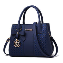 купить High Quality Women Leather Handbag Shoulder Bag Ladies Purse Tote Messenger Satchel Crossbody Large Top-Handle Bags дешево