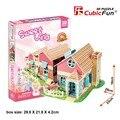 Дети любимая Игрушка подарок Новое прибытие 3d модель головоломка p615h Теплый Вилла мой дом дом бесплатная доставка