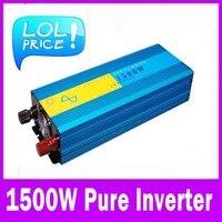 Aliexpress Инвертор 1500 Вт Чистая синусоида Инвертор 12 В 220 В переменного тока 1500 Вт ren синус инвертор 12 В 220 В AC DC
