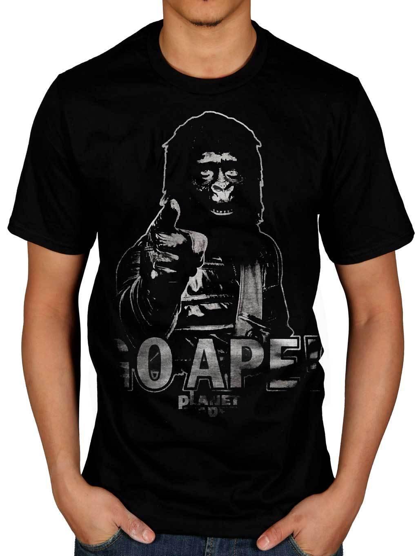 Official Go Ape Planet Of The Apes T Shirt Go Ape Caesar Tv Merchandise Movie