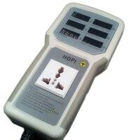 HP9800 PC USB Port 4500W 85V 110V 220V 265V AC 20A Electric Power Energy Monitor Tester Watt Meter Analyzer With Socket Output