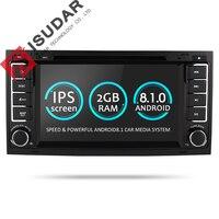 Isudar Car Multimedia Player Android 8.1.0 2 Din DVD Automotivo For VW/Volkswagen/Touareg/Transporter T5 Radio GPS 4 Core 2G RAM