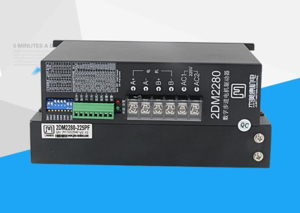 2DM2280 2 phase NEMA42 NEMA52 stepper motor driver 32bit DSP AC80-220V 8.2A JMC2DM2280 2 phase NEMA42 NEMA52 stepper motor driver 32bit DSP AC80-220V 8.2A JMC