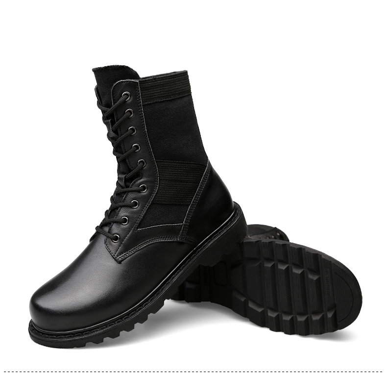 {Zorssar}/уличные армейские ботинки; мужские военные тактические ботинки; зимние дышащие армейские ботильоны; мужские рабочие ботинки - 5