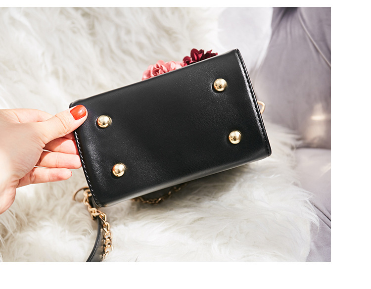 Women crossbody bag female messenger bag with long and short strap fashion designs flowers 44