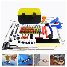 WEYHAA PDR Rods Hook Car Dent Repair Removal Tools Paintless Puller Lifter Glue Gun Tap Down Tool Kit