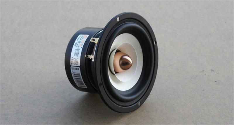 Audio Labs Top end 4 inch Full Range monitor Speaker tweeter woofer Aluminum