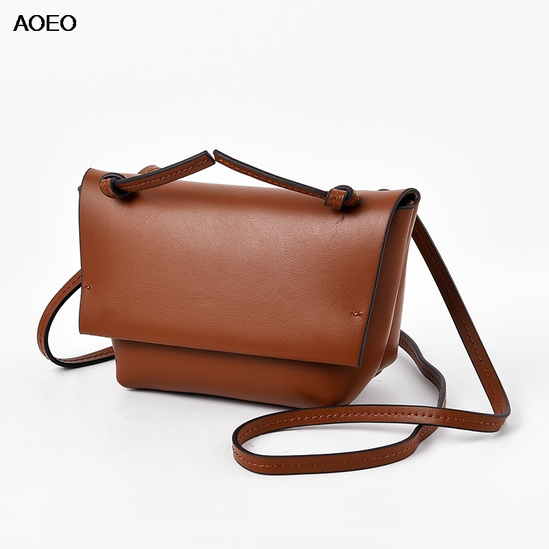 62817ed3e02 HOT SALE] Contrast color PU Leather Crossbody Bag For Women 2019 ...