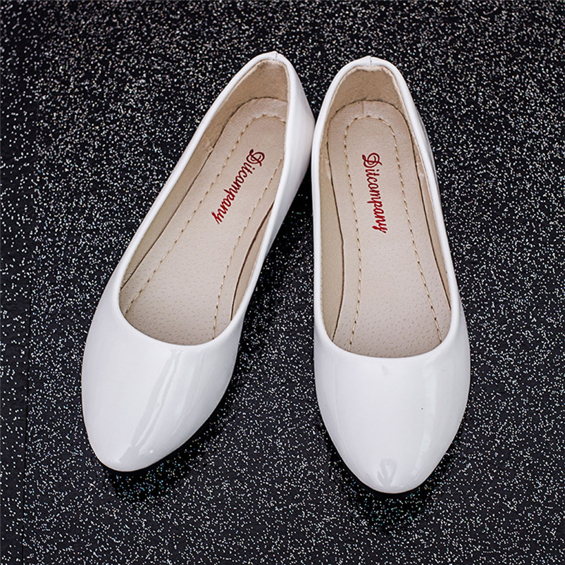 High Quality Shoes Women Flat Pointed Toe Leather Slip On Casual Loafers Shoes Comfortable Flat Shoes zapatos mujer sweet women high quality bowtie pointed toe flock flat shoes women casual summer ladies slip on casual zapatos mujer bt123