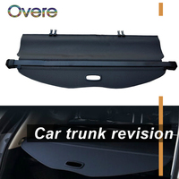 Overe 1Set Car Rear Trunk Cargo Cover For Subaru Forester AT 2013 2014 2015 2016 2017 2018 Security Shield Shade Car accessories