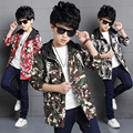 Free shipping Male child autumn outerwear 2016 new spring& autumn children's  clothing child outdoor jacket boy Camouflage top