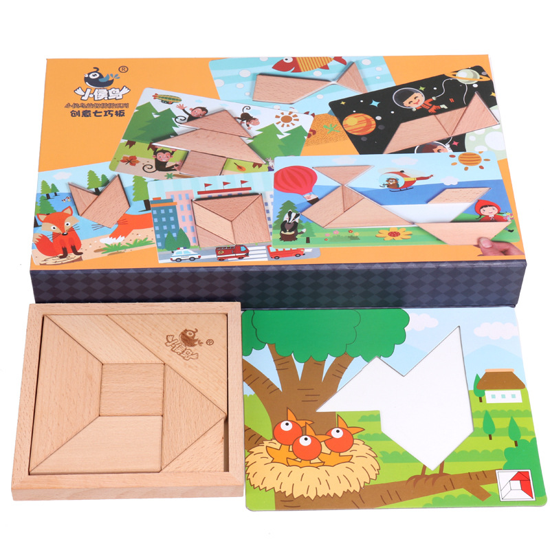 Children's Wooden Toys Diversified Selections Tangram Personality Puzzle Early Education Inspired Gifts for Children of Imaginat provision of primary education for pastoral nomad afar children page 8