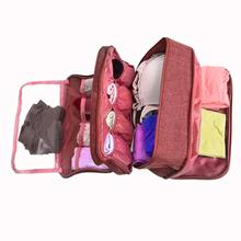 Travel Luggage Clothes Storage Bags For Bra Underwear Suitcase Organizer For Lingerie Portable Bag Toiletry