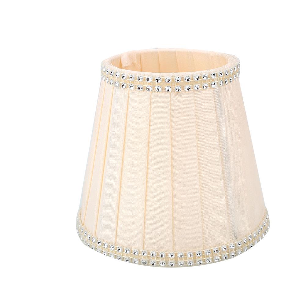 Старинная ткань Европейская хрустальная люстра со свечами настенный светильник абажур кафе - Цвет корпуса: 8