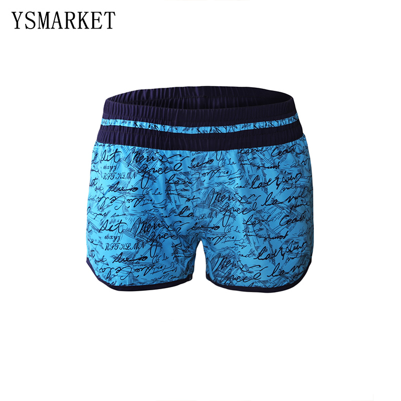 Yannis Trading Co.,Ltd. New Bikini Bottoms Women Stylish Handwriting Print Swim Shorts Bathing Suit Plus Size XL XXL 2017 Hot Summer Beachwear Q410278