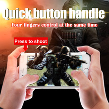 1 Pair Physical Joysticks Game Controller for Phone Tablet STG FPS TPS Games Selfie Remote Control Shutter Gamepad High Quality