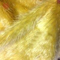 Amarelo preto branco marrom 5 cm de comprimento tecido da pele do falso fofo afogamento cabelo tejido tela de pano de tecido para o inverno frete grátis SP4580