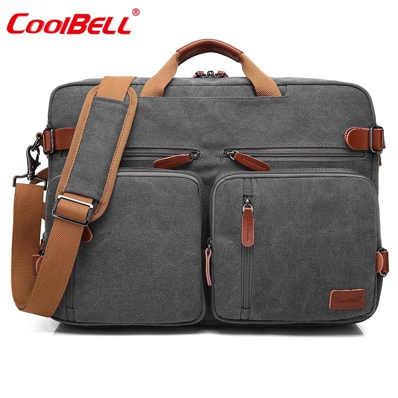 CoolBELL 17.3 Pouce Convertible Portable Sac À Dos Hommes Sac D'ordinateur Portable D'affaires Multifonctionnel sac de Voyage Sac À Dos Sac Pour Les Adolescents