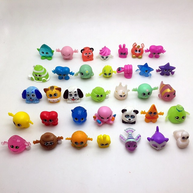 50pcs/lot cartoon mini doll toys popular kids toys gift Small mini ...