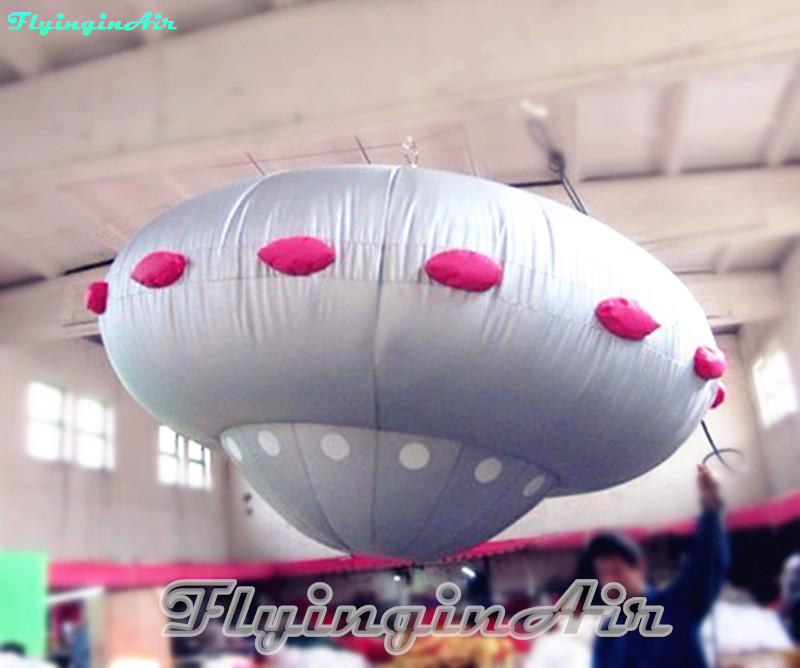 8 Feet Alien Spacecraft Show Inflatable Flying Saucer