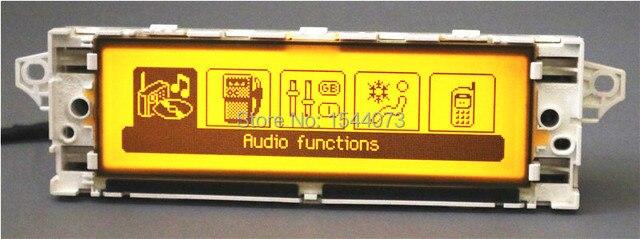 ¡Bueno! pantalla de Monitor de pantalla USB Bluetooth aire acondicionado amarillo 12 pin para Peugeot 407 Peugeot 408, 307 Sega triunfo C5