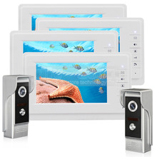 DIYSECUR 7 inch TFT Color LCD Display Video Door Phone Video Intercom Doorbell 700TVLine HD IR Night Vision Camera 2V4