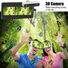VR Box Camera With Virtual Reality 3D VR Glasses For Samsung S5 S6 S7 Note3 Note