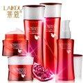 LAIKOU Granada Esencia conjunto cuidado de la piel crema hidratante para blanquear los anti-envejecimiento crema crema para la hembra 5 unids/lote