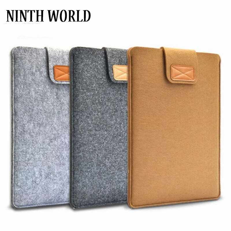 High Quality Felt Liner Sleeve Laptop Bag Notebook Case Computer Bag Smart Cover For 8
