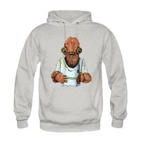 Admiral Ackbar Star Wars Men S Hoodie New Design Cool Death Star Funny Printed Cotton Casual