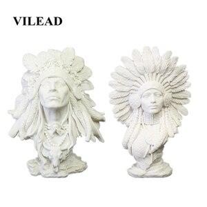Image 1 - VILEAD 30cm 11.8 사암 인도 여성 인형 빈티지 홈 장식 인도 조각상 홈 오피스를위한 크리스마스 장식