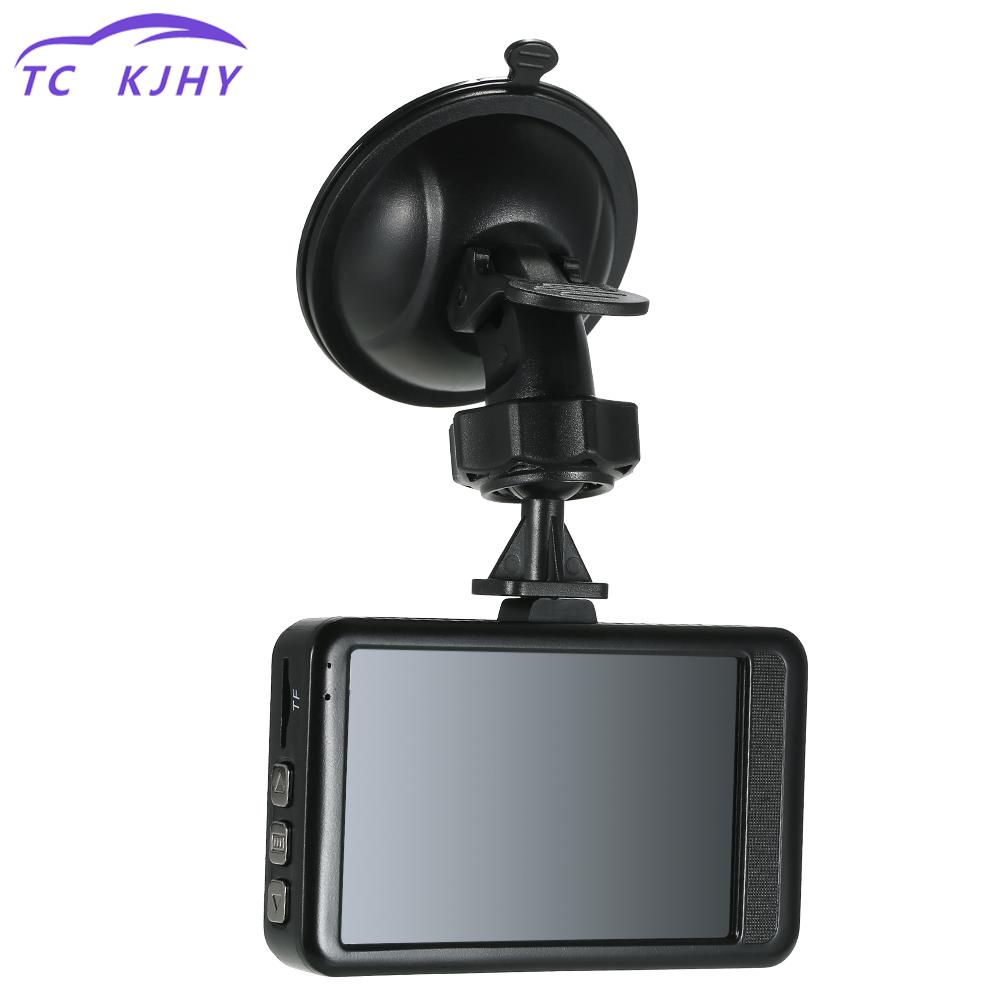 Auto Fhd 1080p Camcorder 3 Inch Dash Camera Car Dvr Dash Cam Video Recorder Lcd Motion Detection Loop Recording Display
