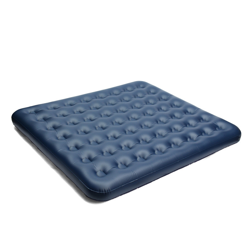 Best Deal Air Mattress Inflatable Downy Sleeping Bed Camping Durable Flocked PVC Camping Mat For Outdoor Sports durable thicken pvc car travel inflatable bed automotive air mattress camping mat with air pump