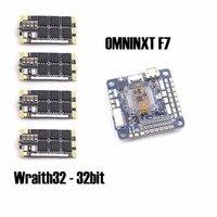 OMNINXT F7 рейса плате контроллера и 4 шт Wraith32 32bit BLHELI программа ESC для FPV Квадрокоптер Дрон frame