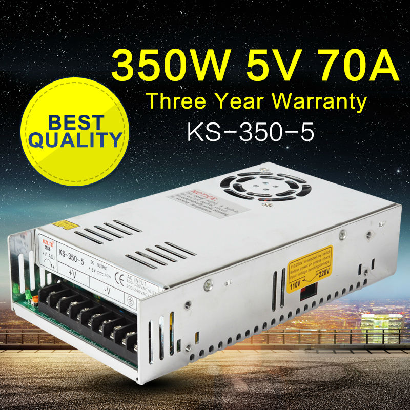 350W 5V LED Power Supply AC-DC Converter 220V to 5V LED SMPS Switch Mode Power Supply for LED Module Light Monitor 100%Authentic 6es7284 3bd23 0xb0 em 284 3bd23 0xb0 cpu284 3r ac dc rly compatible simatic s7 200 plc module fast shipping