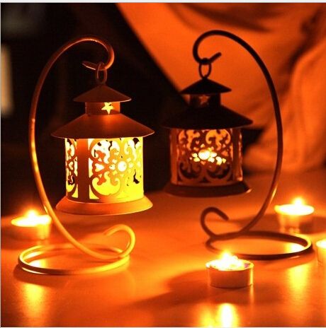 2015 Moroccan Style Candlestick Tea Light Candle Holder Bird Cage  Decoration Christmas Room Wall Candleholder(