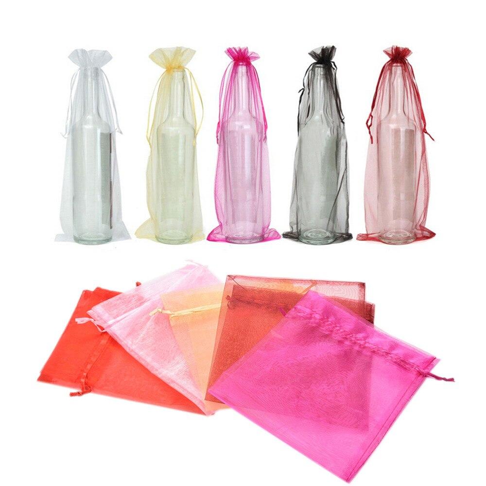 Velvet Wine Bottle Gift Bag Sack 15x36cm (6\
